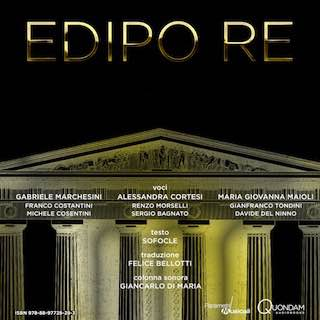 cover audiobook Edipo re