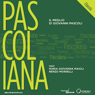 cover audiobook Pascoliana Classic